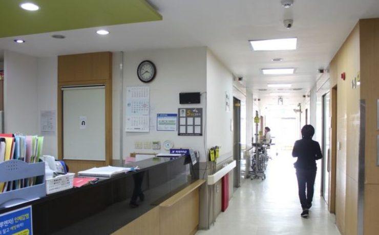 Этаж стационара клиники