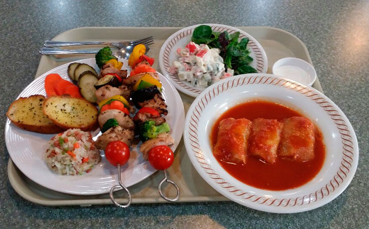 Ужин для иностранцев